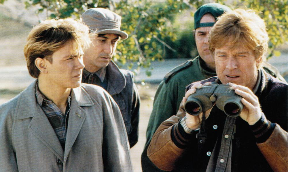 Sneakers 1992 Robert Redford comedy thriller