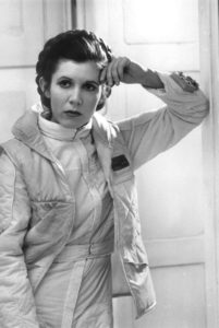 Carrie Fisher Princess Leia Star Wars Empire Strikes Back death died