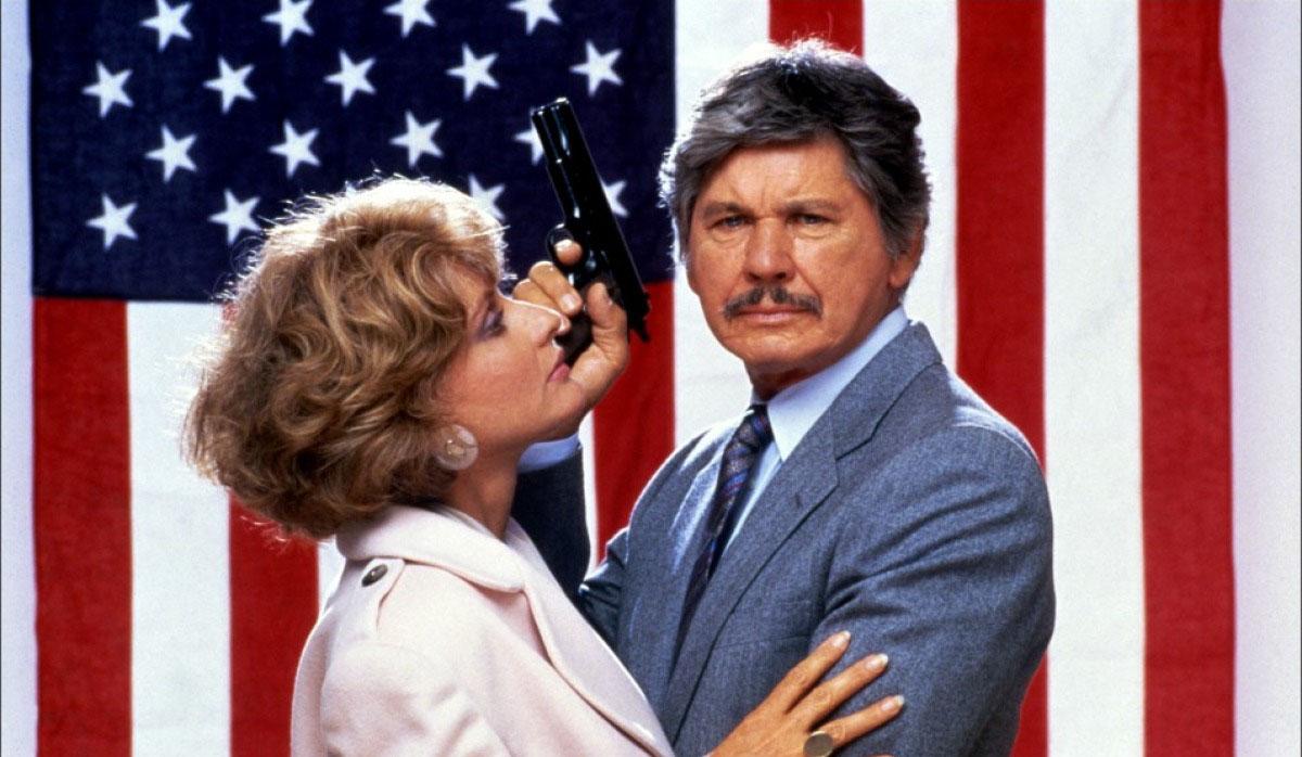 Charles Bronson Jill Ireland Assassination 1987 action movie