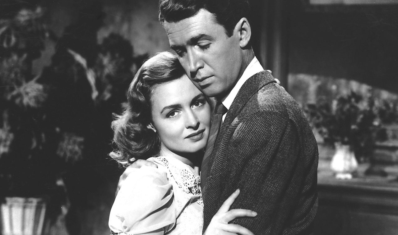 Donna Reed Jimmy Stewart Its A Wonderful Life 1946