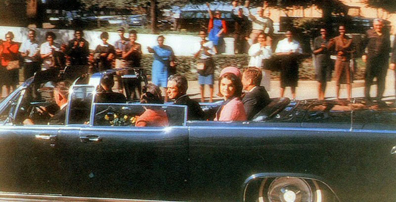 JFK Jackie motorcade Dallas assassination parade route