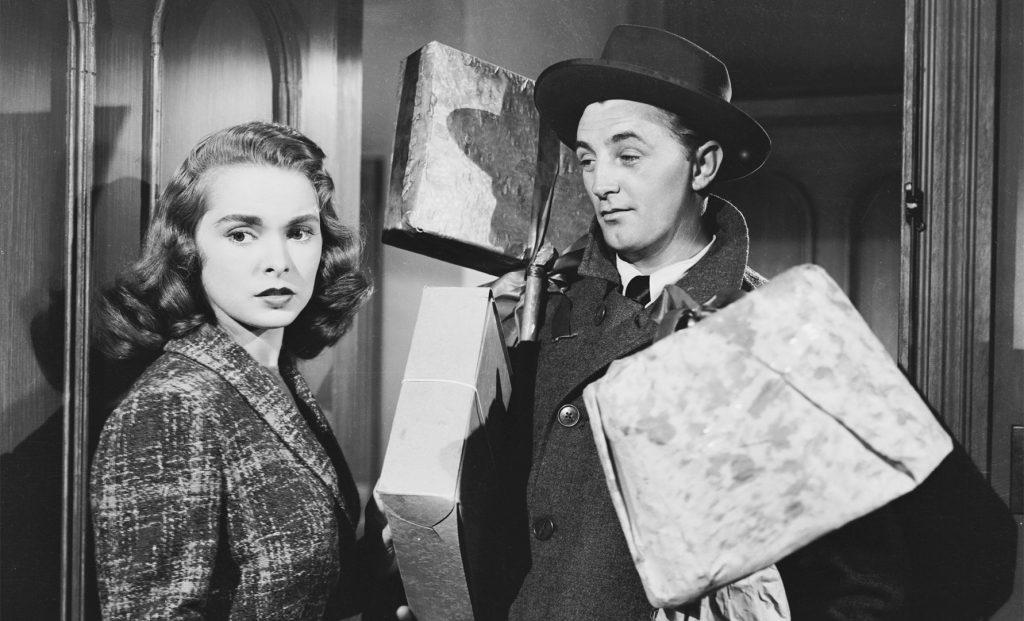 Janet Leigh Robert Mitchum Holiday Affair 1949 Christmas holiday romance film