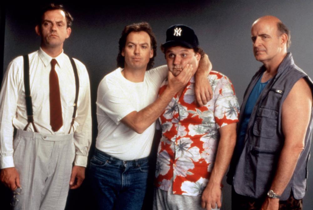 Keaton Lloyd Boyle Furst The Dream Team 1989 comedy