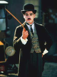 Robert Downey Jr. as Charlie Chaplin 1992