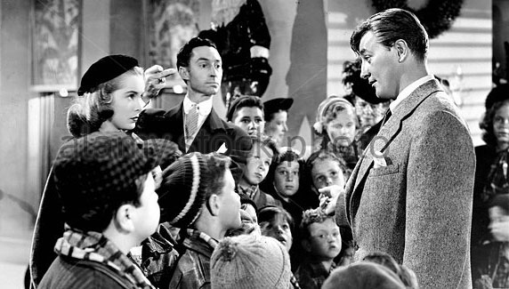 Robert Mitchum Janet Leigh Holiday Affair 1949 Christmas movie