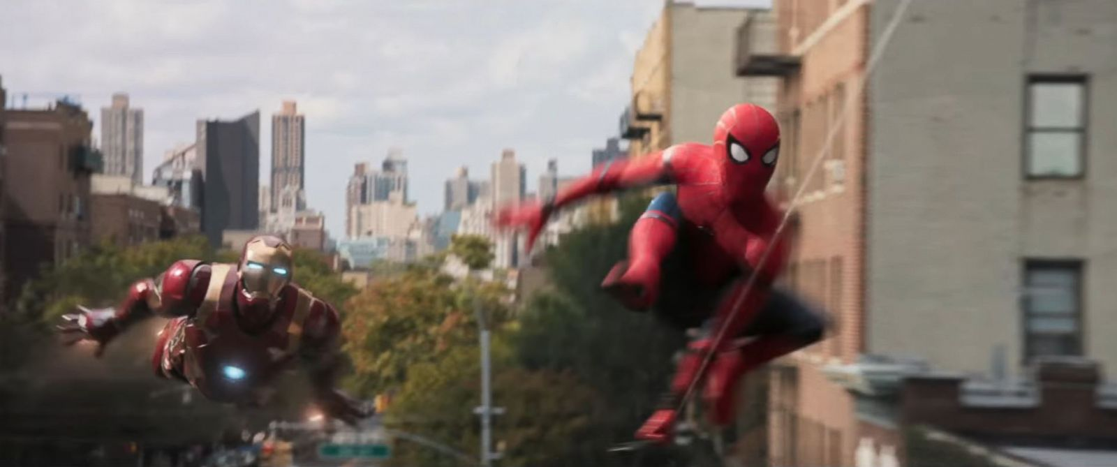 Spider-Man Homecoming trailer Iron Man