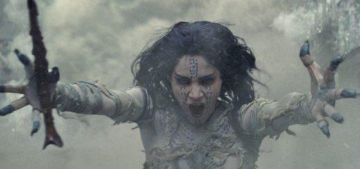 The Mummy 2017 monster movie