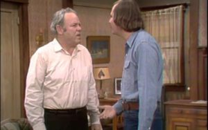 All in the Family Archie Mike Carrol OConnor Rob Reiner