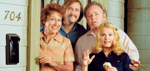 All in the Family cast Archie Bunker classic comedy tv