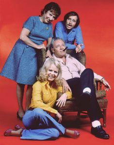 All in the Family cast Archie Bunker comedy tv show