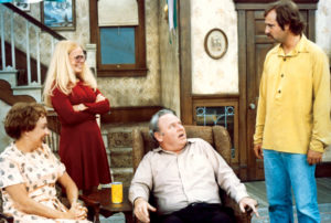 All in the Family cast tv comedy classic show
