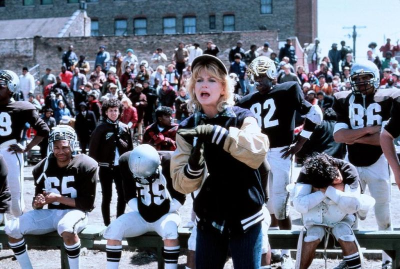 Goldie Hawn Wildcats football comedy 1986