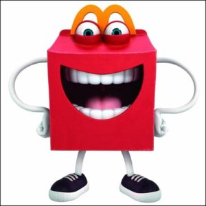 McDonalds Happy Meal mascot