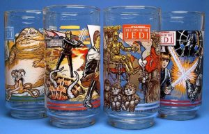 McDonalds Star Wars glasses
