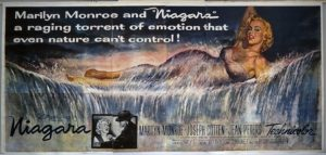 Niagara 1953 film noir movie poster Marilyn Monroe
