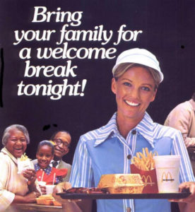 old McDonalds ad deserve a break today