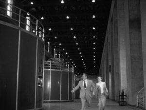 711 Ocean Drive 1950 film noir Hoover Dam chase scene