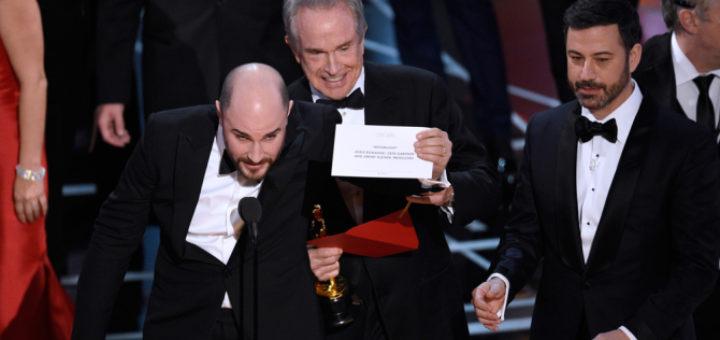 Oscar mixup La La Land Best Picture funny