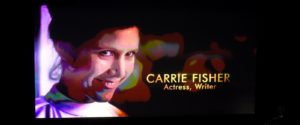 Oscars In Memoriam Carrie Fisher