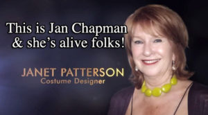 Oscars In Memoriam mistake Janet Patterson alive