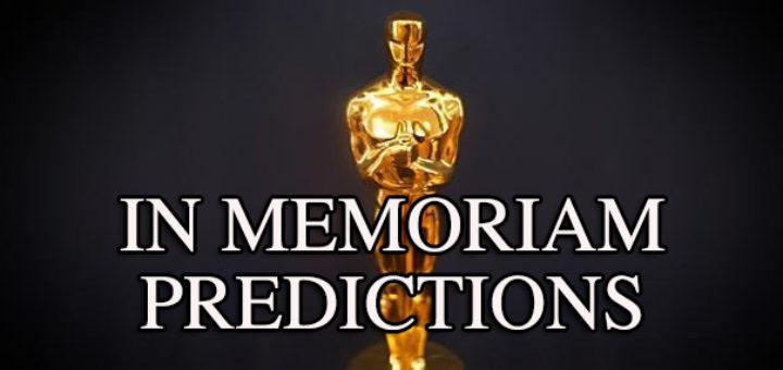 Oscars In Memoriam