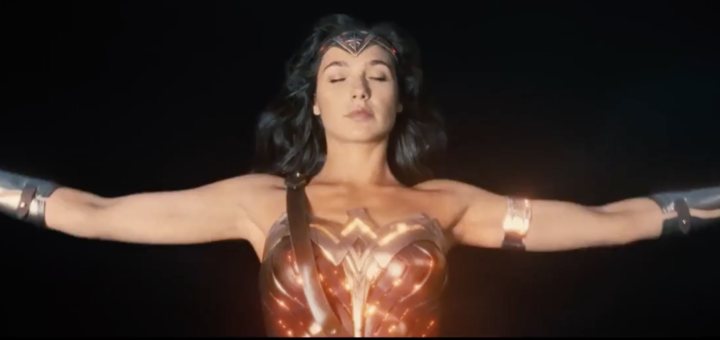 Gal Gadot as Wonder Woman DC WB Trailer 3