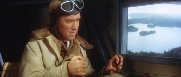 Jimmy Stewart Charles Lindbergh in Spirit of St Louis movie