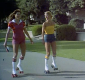 Midnight Madness 1980 Candy Sunshine pretty girls roller skates