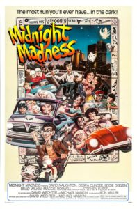 Midnight Madness 1980 movie poster
