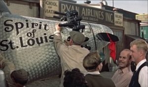 Spirit of St Louis movie construction airplane