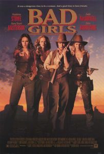 Bad Girls 1994 movie poster