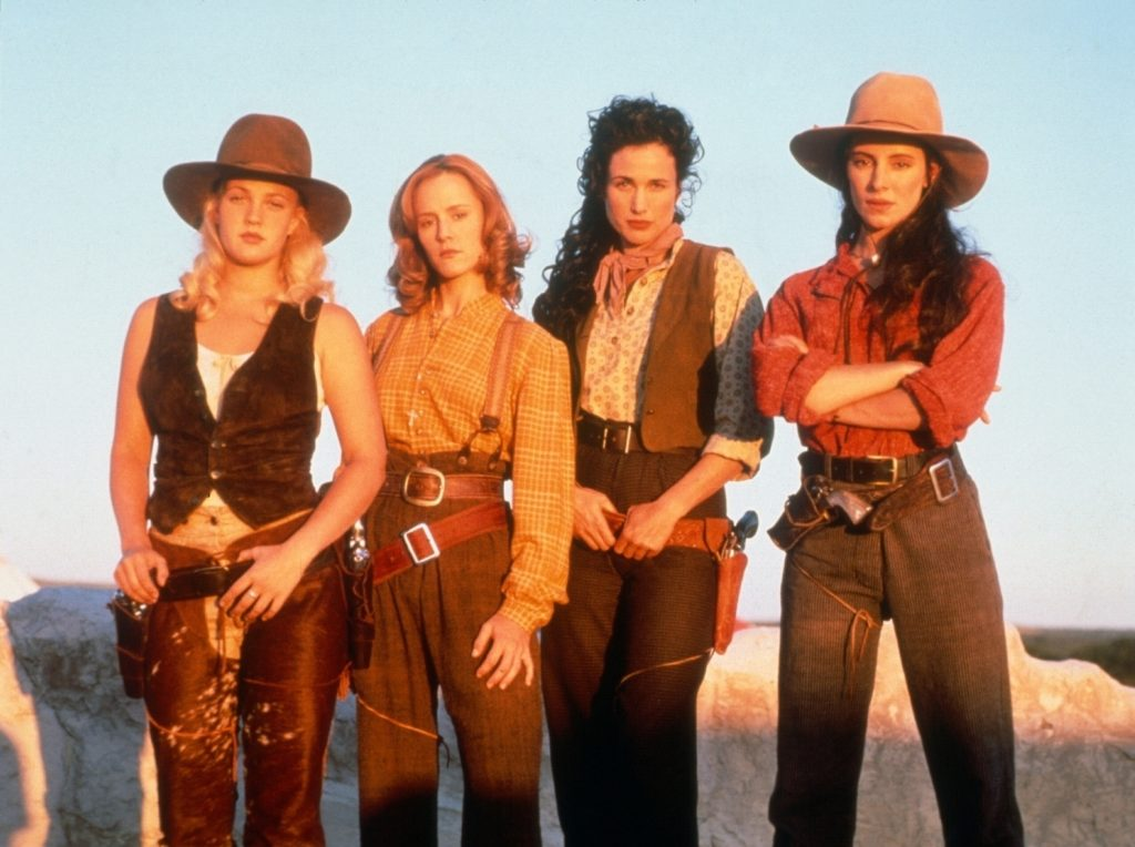 Bad Girls 1994 western Madeleine Stowe Andie MacDowell Drew Barrymore Mary Stuart Masterson