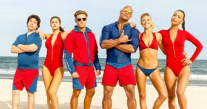 Baywatch 2017 action comedy Dwyane Johnson