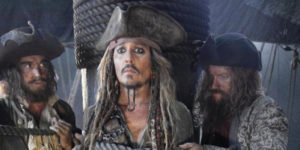Johnny Depp Pirates of Caribbean Dead Men Tell No Tales sequel 2017