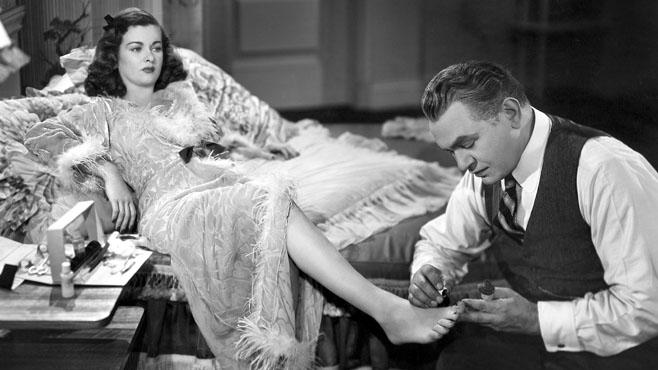 Scarlett Street 1945 film noir Edward G Robinson Joan Bennet
