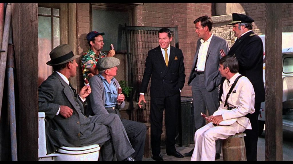 Whos Minding The Mint 1967 all star comedy cast