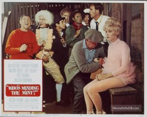 Who's Minding the Mint 1967 cast comedy