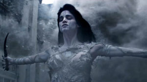 The Mummy Sofia Boutella 2017 movie special effects CGI