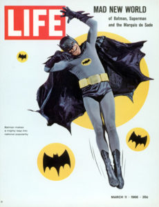 Adam West Batman Life Magazine March 1966