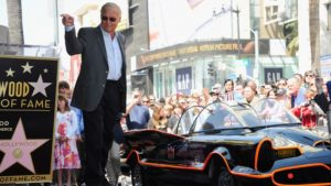 Adam West death Walk of Fame Batman