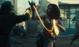 Gal Gadot Wonder Woman fight scene magic lasso