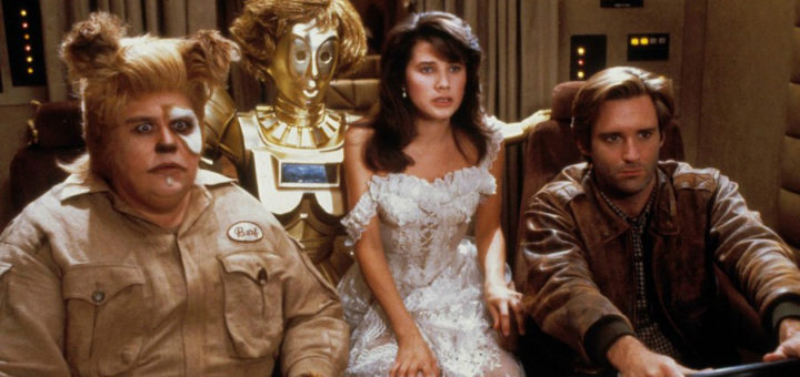 Spaceballs 1987 Mel Brooks Star Wars parody comedy cast