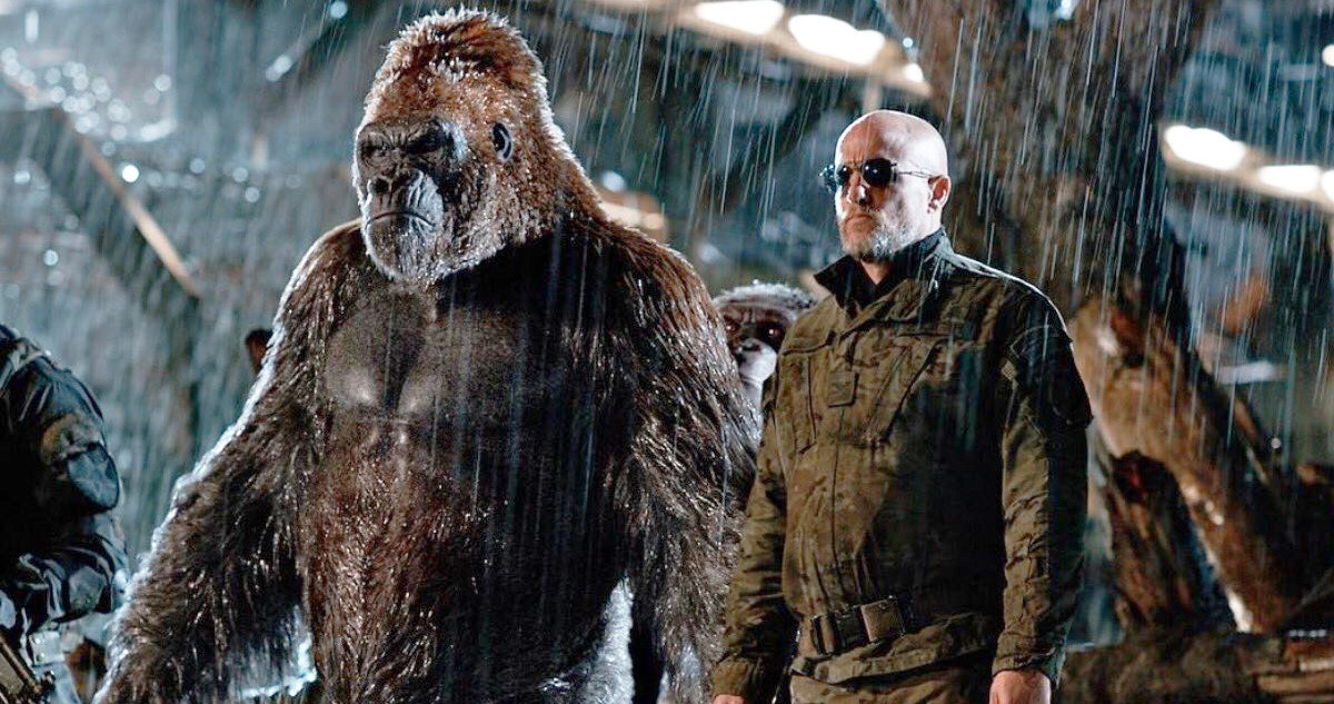 War for the Planet of the Apes Woody Harrelson