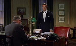 Dr No James Bond 007 M office scene