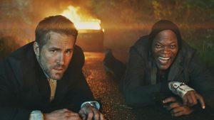 Hitmans Bodyguard Ryan Reynolds Samuel L Jackson action comedy