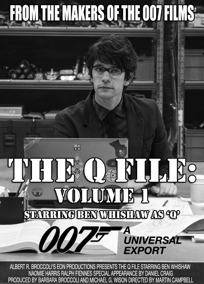 Q James Bond 007 Movie Poster