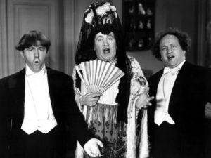 Three Stooges Micro Phonies Moe Larry Curly