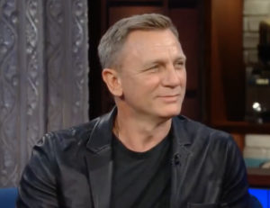 Daniel Craig James Bond 007 return final last Stephen Colbert announcement
