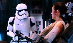Daniel Craig Star Wars Force Awakens cameo stormtrooper