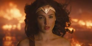 Gal Gadot Wonder Woman 2017 ending fight scene